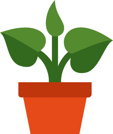 style plant in pot images in PNG and SVG | Icons8 Illustrations