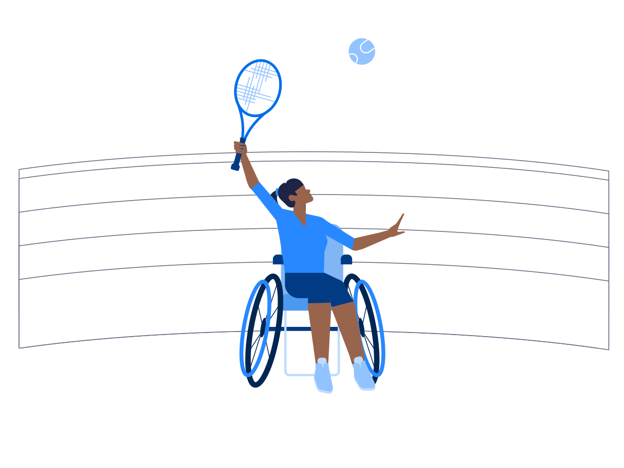 style Paralympic games images in PNG and SVG | Icons8 Illustrations
