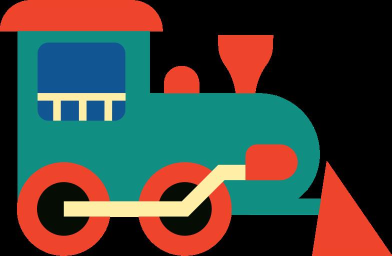 locomotive Clipart illustration in PNG, SVG