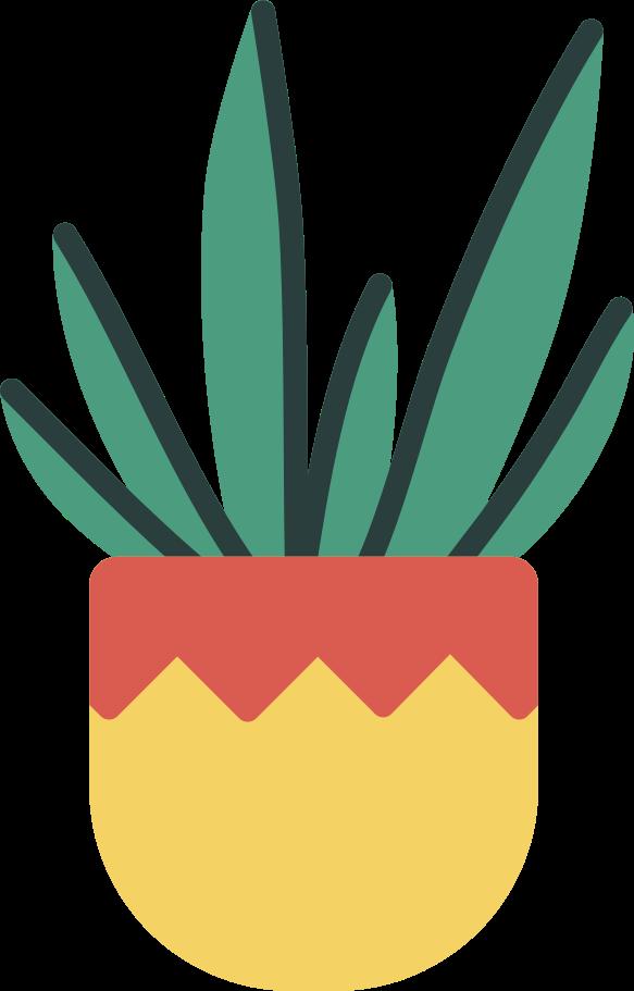 PNGとSVGの  スタイルの 鉢植え ベクターイメージ   Icons8 イラスト