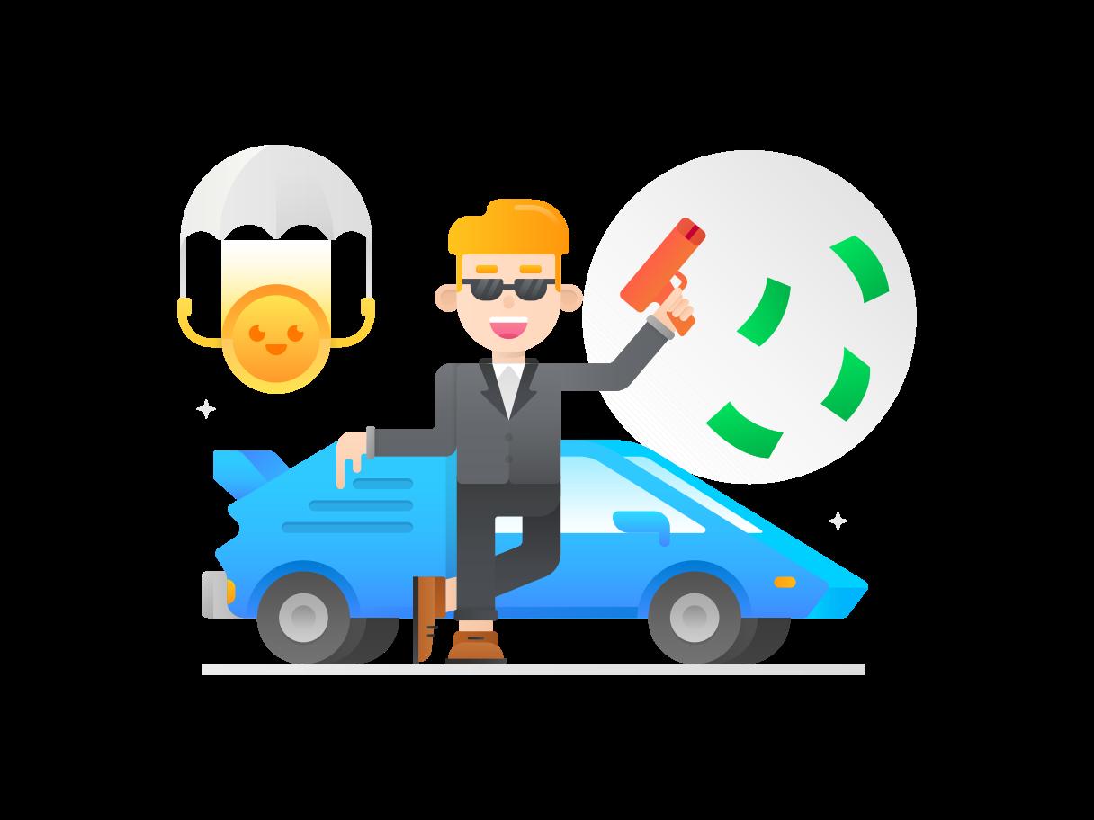 Imágenes vectoriales dinero fácil en PNG y SVG estilo  | Ilustraciones Icons8