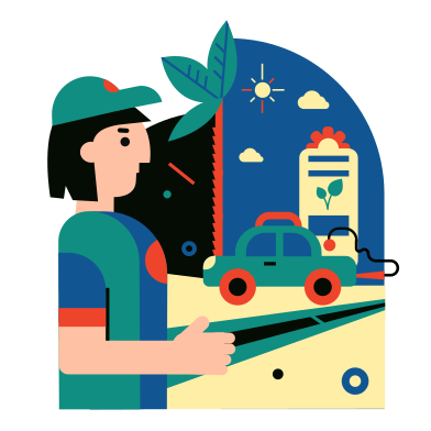 style Eco refueling images in PNG and SVG | Icons8 Illustrations