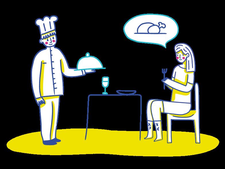 PNGとSVGの  スタイルの レストランの食べ物 ベクターイメージ | Icons8 イラスト