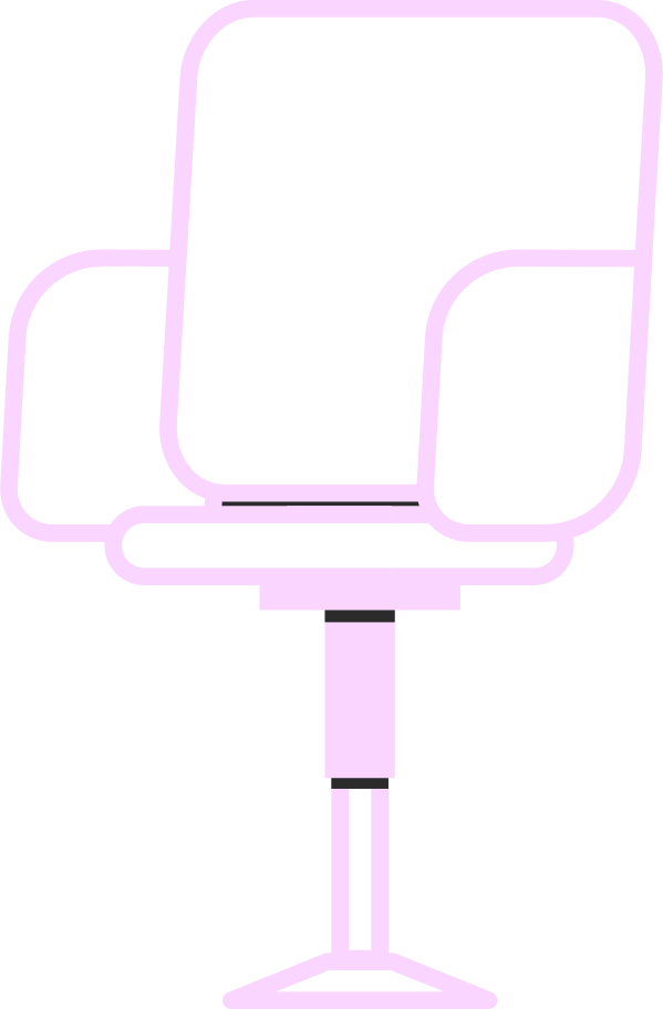 productive work  chair Clipart illustration in PNG, SVG