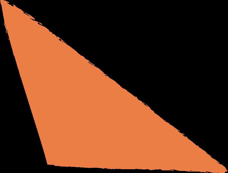 scalene-orange Clipart illustration in PNG, SVG