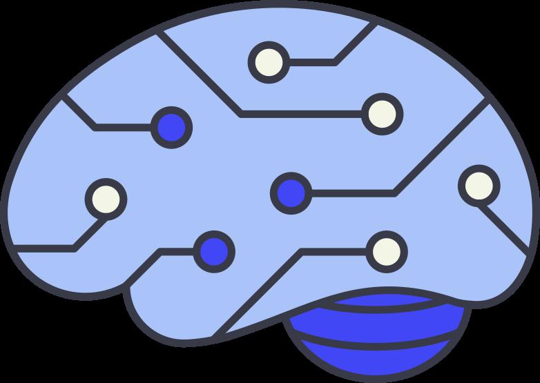 brain Clipart illustration in PNG, SVG