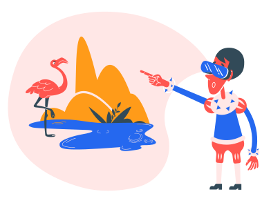 style VR nature images in PNG and SVG | Icons8 Illustrations