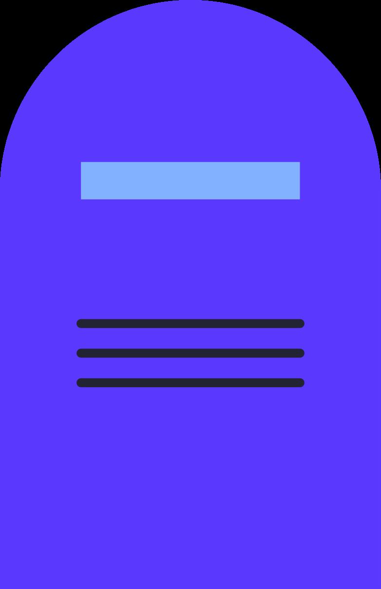 Ilustración de clipart de grave en PNG, SVG