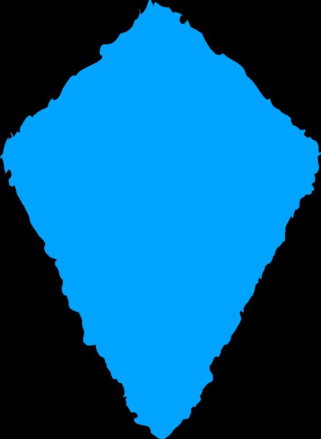 kite sky blue Clipart illustration in PNG, SVG