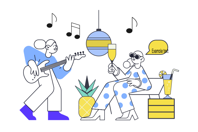 Party Clipart illustration in PNG, SVG