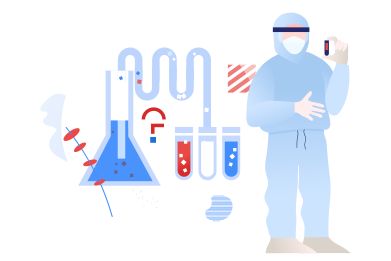 style Looking for a vaccine images in PNG and SVG | Icons8 Illustrations