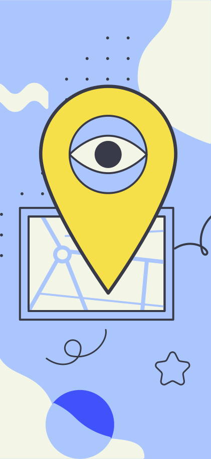 Search location Clipart illustration in PNG, SVG