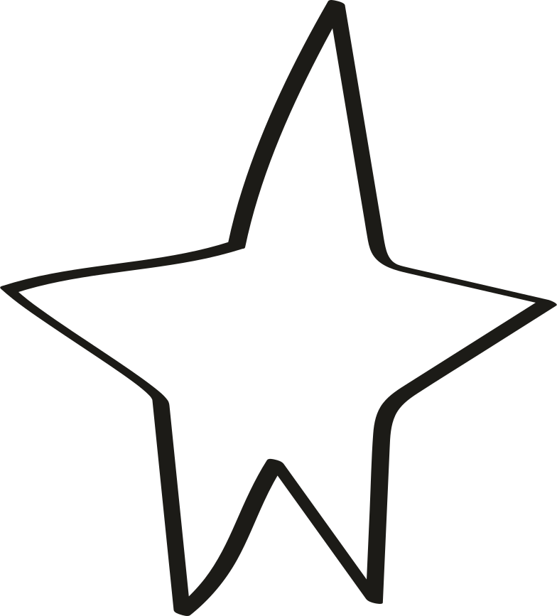 style tk black line star Vector images in PNG and SVG | Icons8 Illustrations