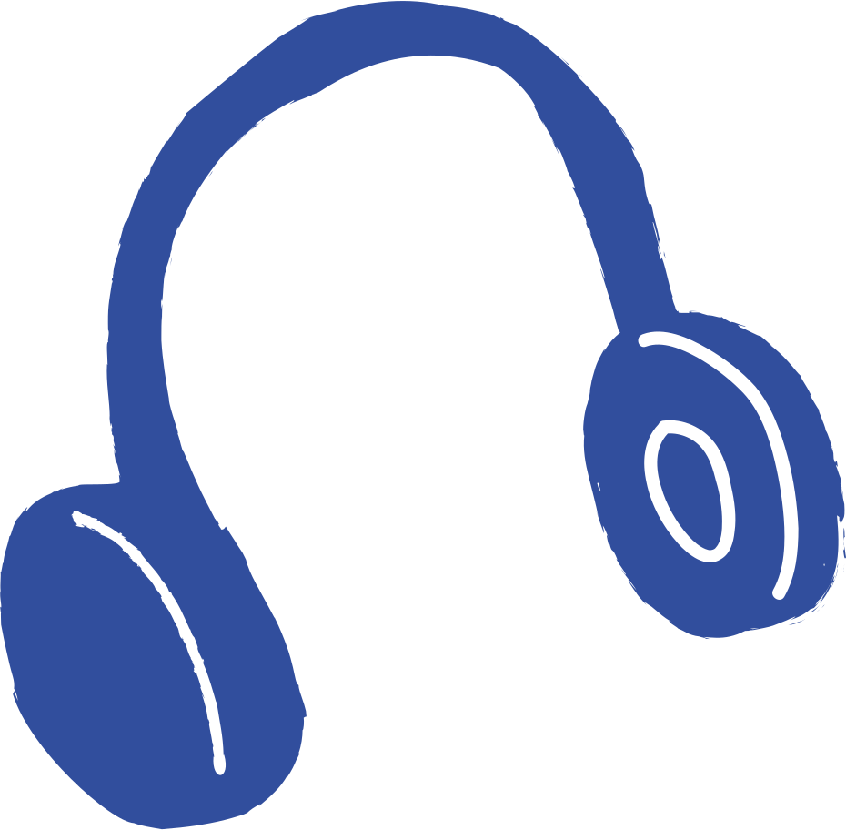 headhones Clipart illustration in PNG, SVG