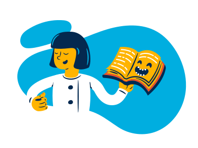 style Funny Book images in PNG and SVG | Icons8 Illustrations