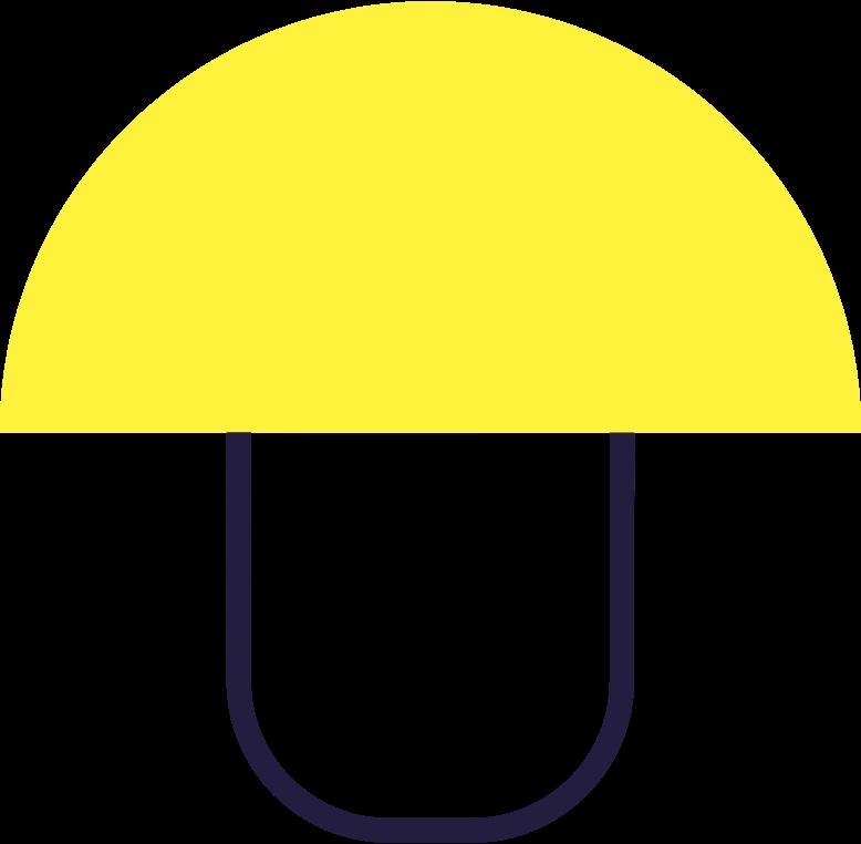 mushroom Clipart illustration in PNG, SVG