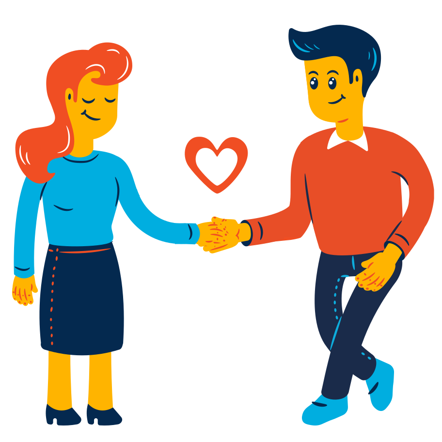 style Couple holding hands Vector images in PNG and SVG | Icons8 Illustrations