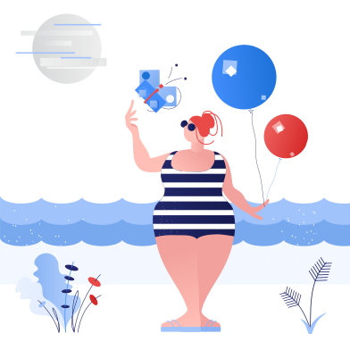 style Summer holidays images in PNG and SVG | Icons8 Illustrations