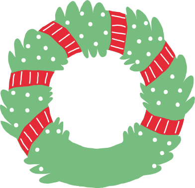 style christmas wreath images in PNG and SVG | Icons8 Illustrations
