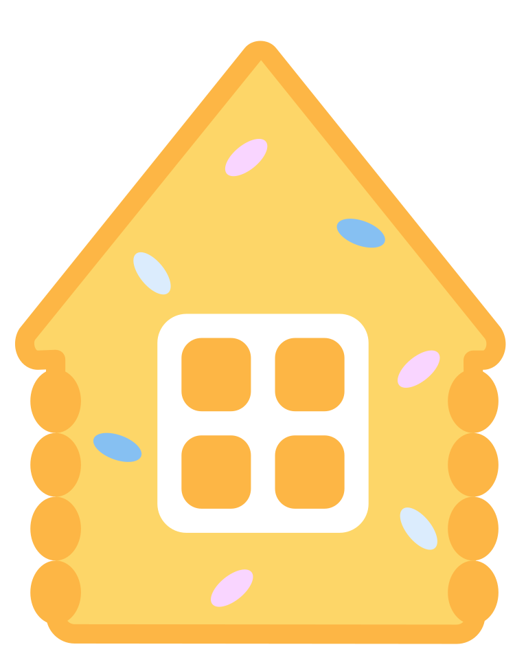 style gingerbread house Vector images in PNG and SVG | Icons8 Illustrations