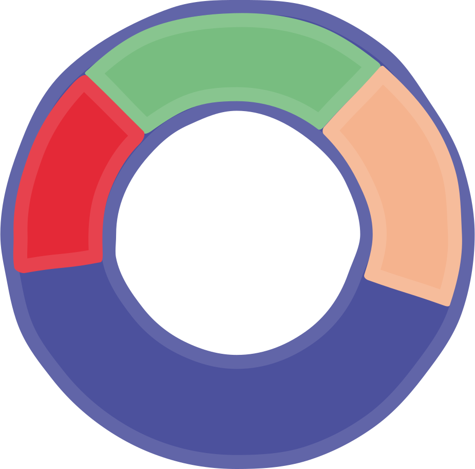 pie chart Clipart illustration in PNG, SVG