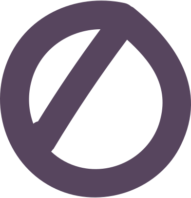 style prohibiting sign images in PNG and SVG | Icons8 Illustrations