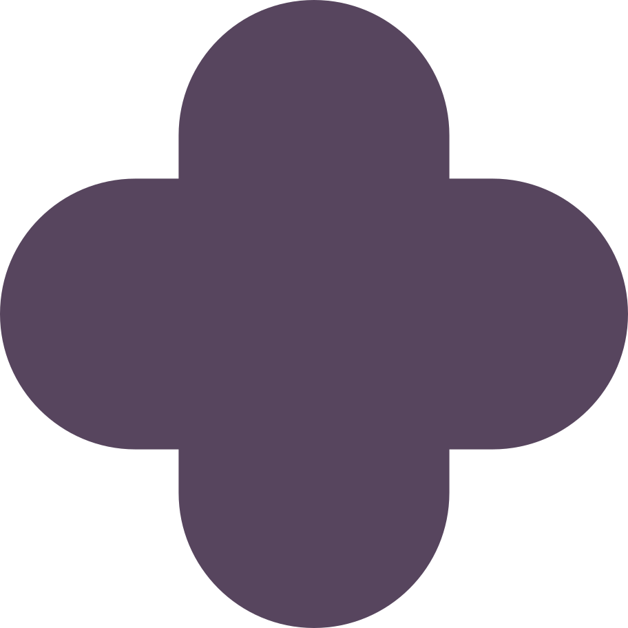 quatrefoil purple Clipart illustration in PNG, SVG