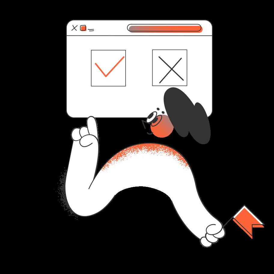 Confirm Clipart illustration in PNG, SVG