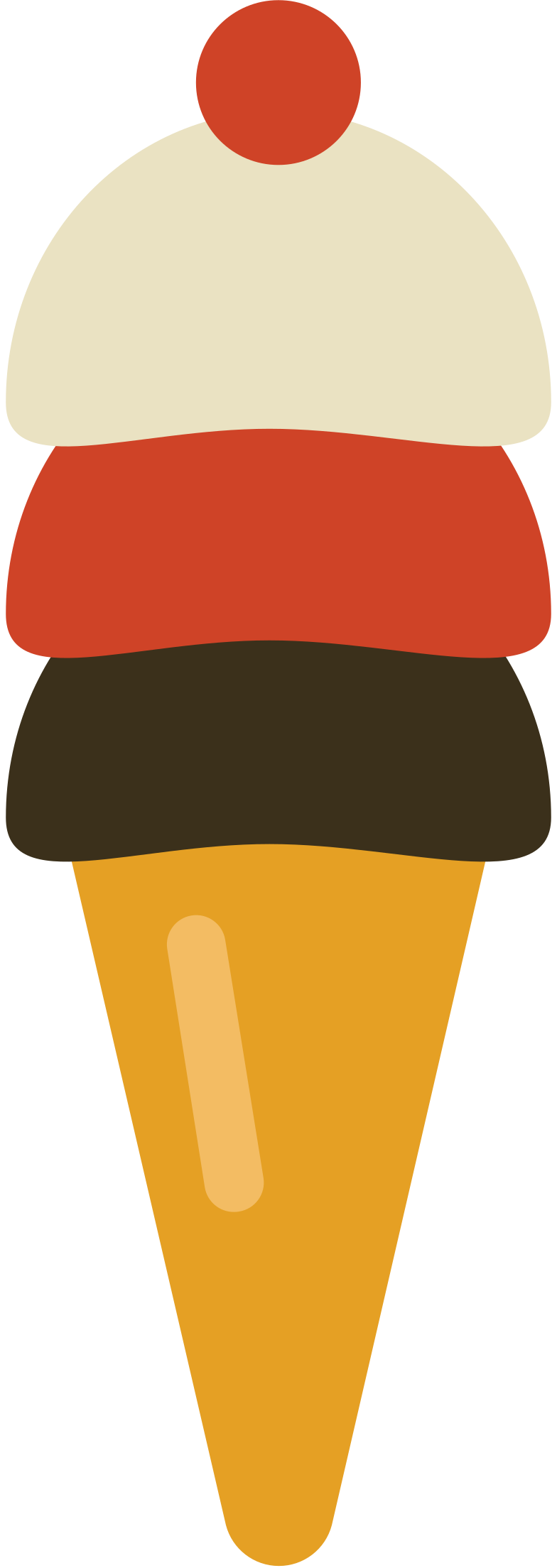 style ice cream cone Vector images in PNG and SVG | Icons8 Illustrations