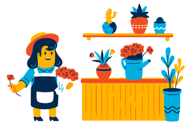 style Flower shop images in PNG and SVG | Icons8 Illustrations