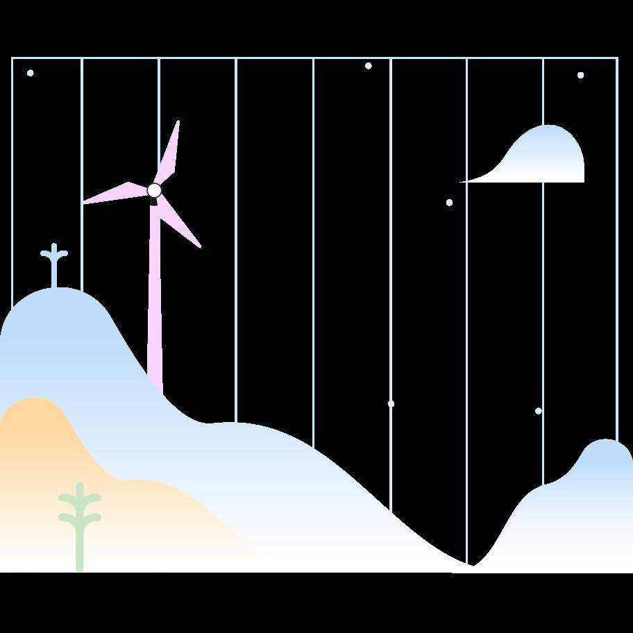 Renewable energy Clipart illustration in PNG, SVG