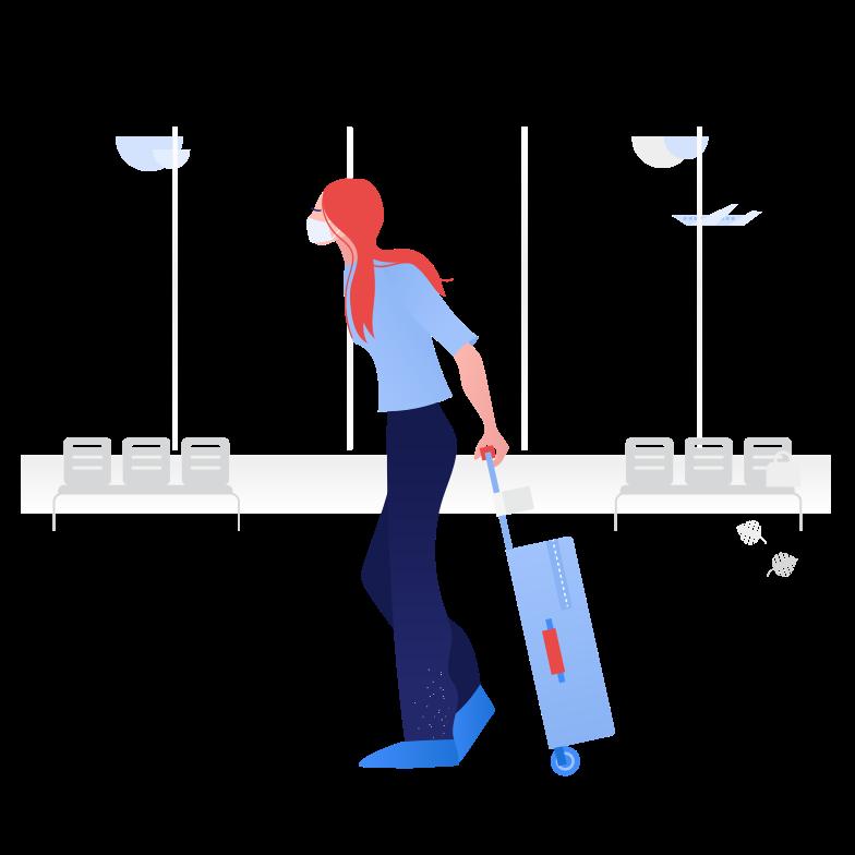 스타일 안전한 여행 PNG 및 SVG 형식의 벡터 이미지 | Icons8 일러스트레이션