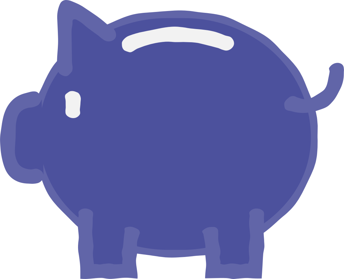 moneybox Clipart illustration in PNG, SVG