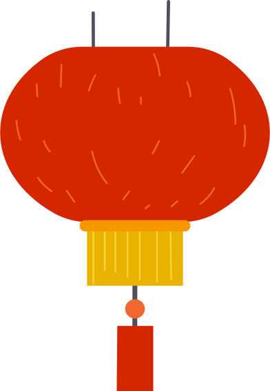 style new year's lantern images in PNG and SVG | Icons8 Illustrations