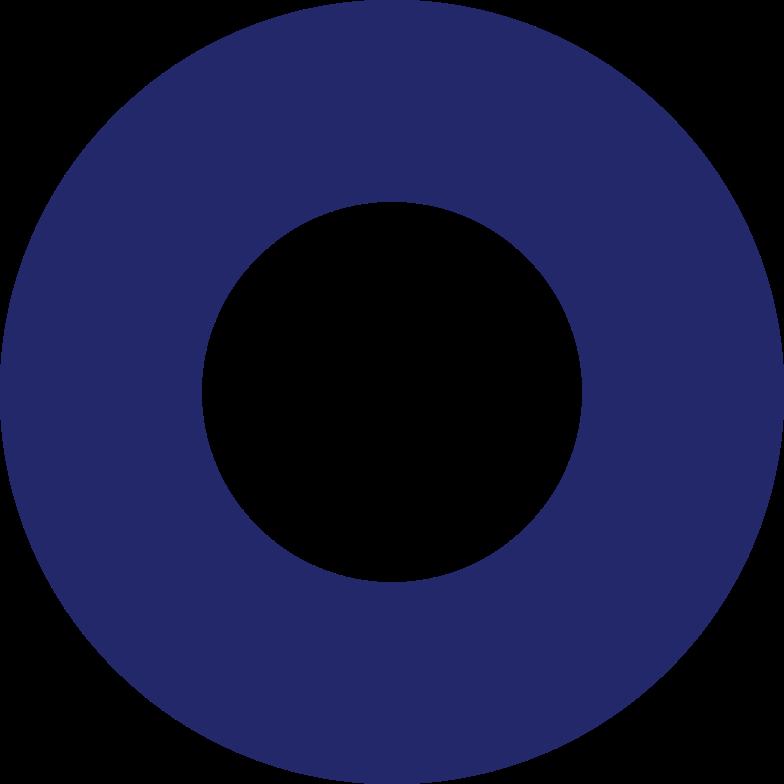 ring dark blue Clipart illustration in PNG, SVG