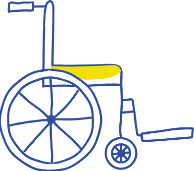 style wheel chair images in PNG and SVG | Icons8 Illustrations