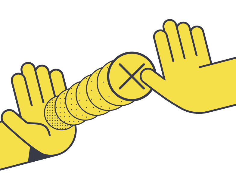 Payment rejected Clipart illustration in PNG, SVG