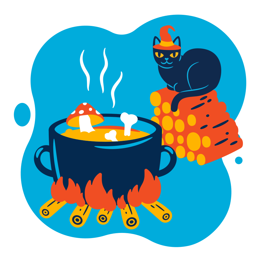 style Witch soup images in PNG and SVG | Icons8 Illustrations