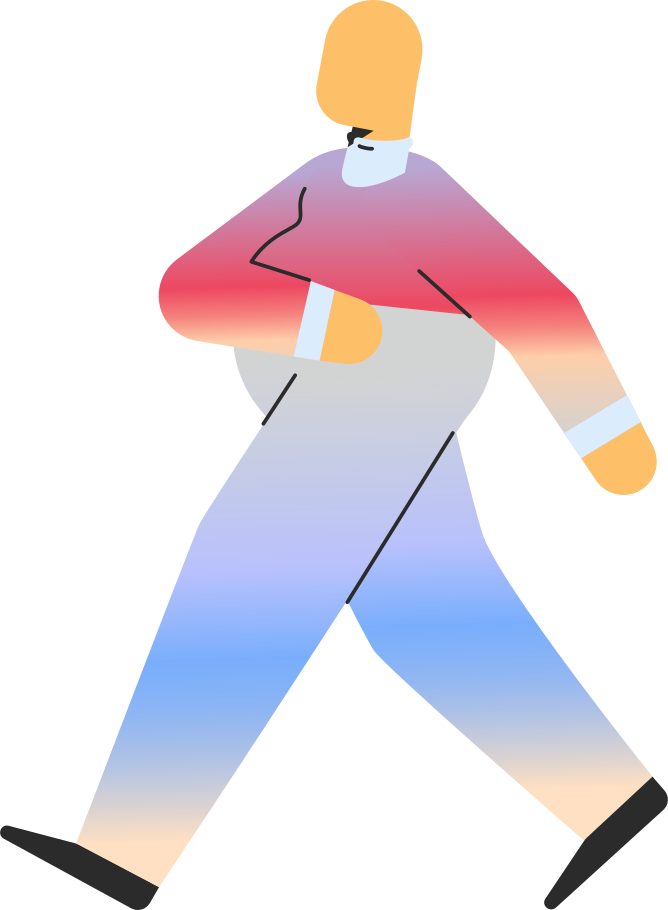 style chubby adult walking Vector images in PNG and SVG   Icons8 Illustrations