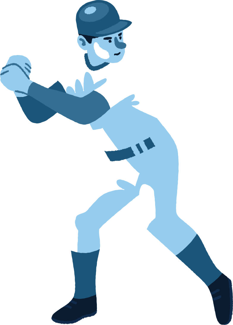 style baseball player Vector images in PNG and SVG | Icons8 Illustrations