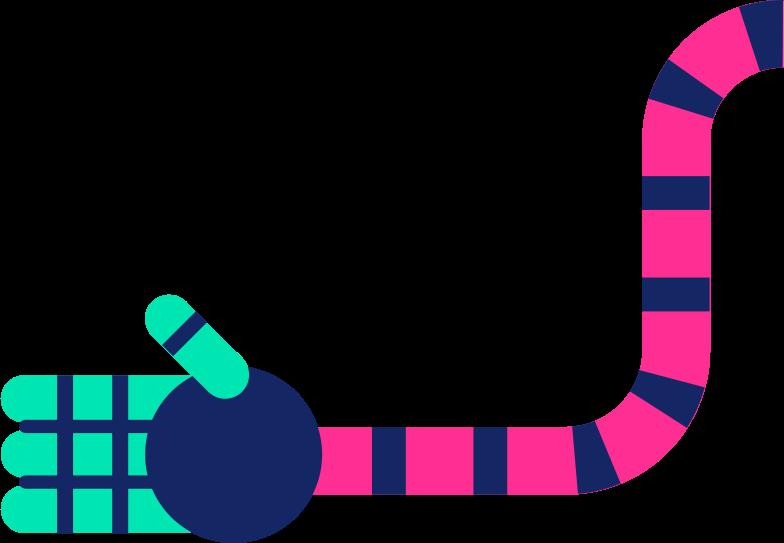 robot hand Clipart illustration in PNG, SVG