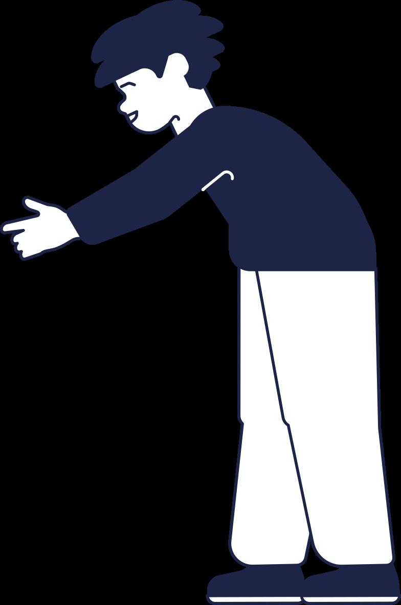kid 2 line Clipart illustration in PNG, SVG