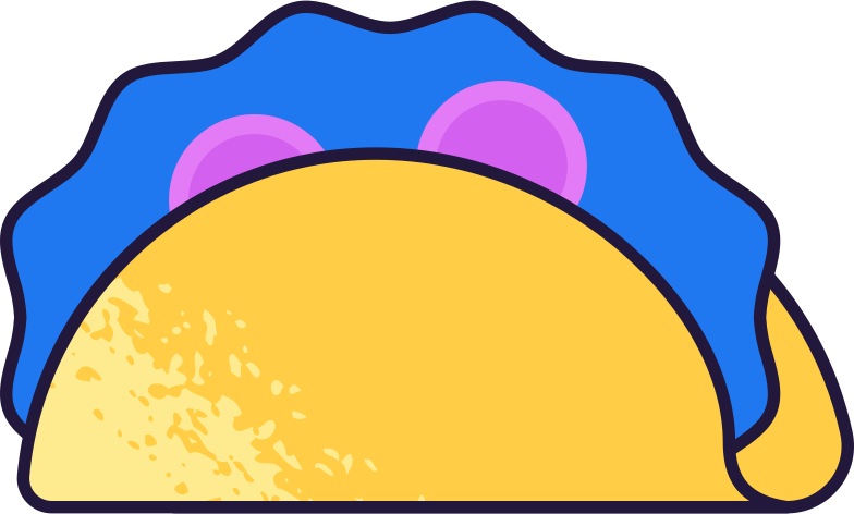 taco Clipart illustration in PNG, SVG