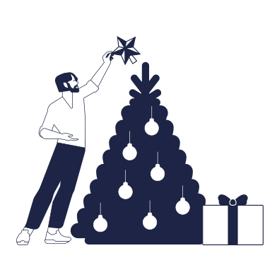 style Decorating Christmas tree images in PNG and SVG   Icons8 Illustrations
