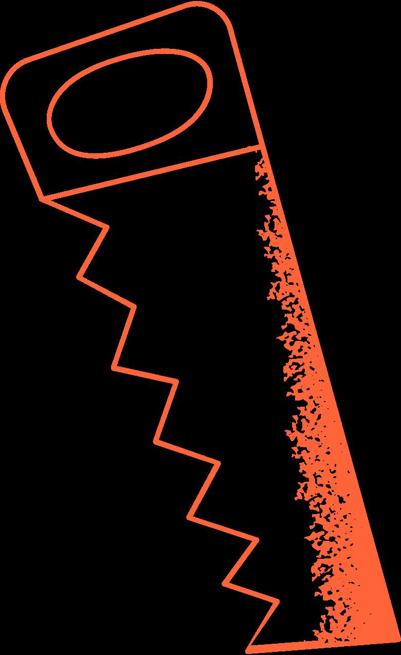 saw Clipart-Grafik als PNG, SVG