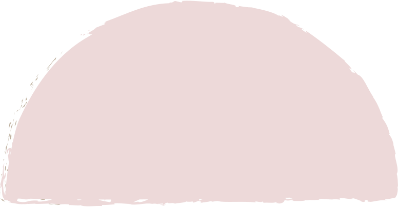 semicircle-pink Clipart illustration in PNG, SVG