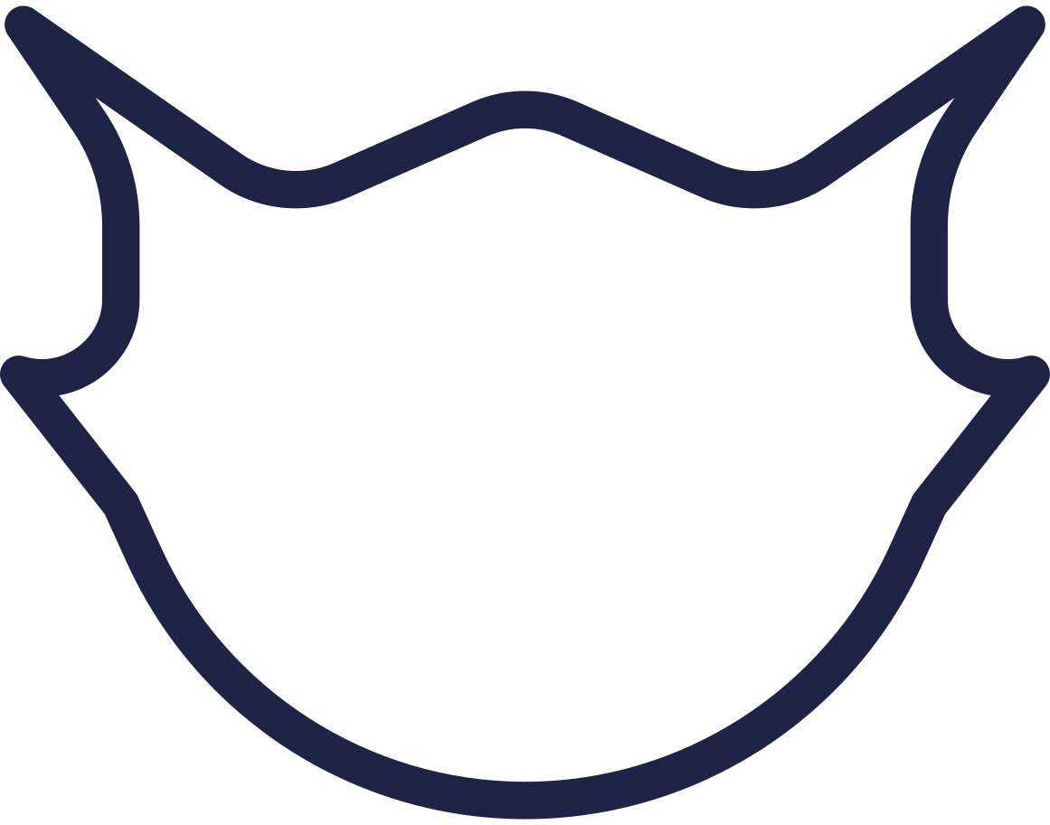 protection mask Clipart illustration in PNG, SVG