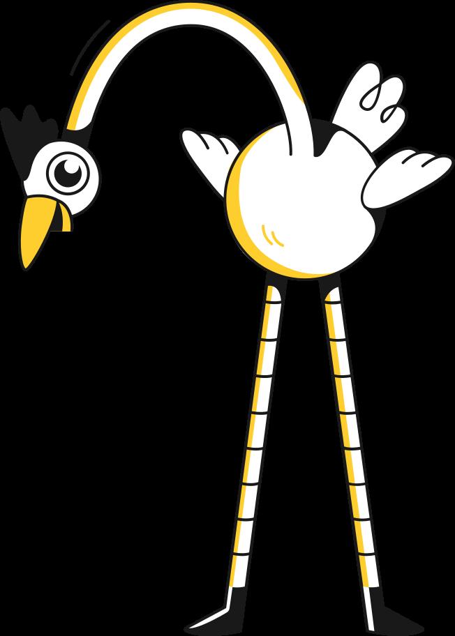 stork holding Clipart illustration in PNG, SVG