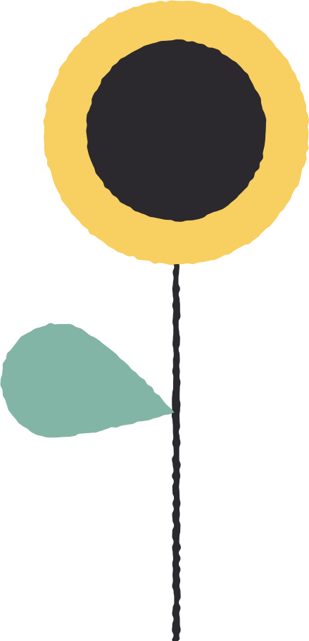 sunflower Clipart illustration in PNG, SVG