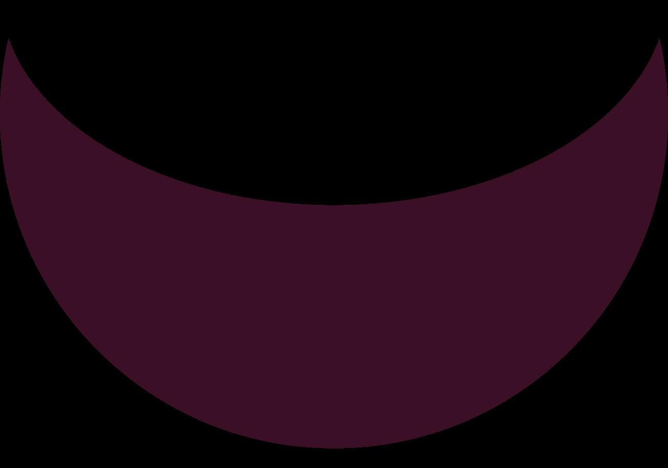 crescent brown Clipart illustration in PNG, SVG